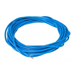 Električni kabel - Tec -1mm x 5M -Moder