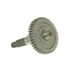 rear drive shaft gear wheel assy - 44 teeth for China 2-stroke, CPI, Keeway