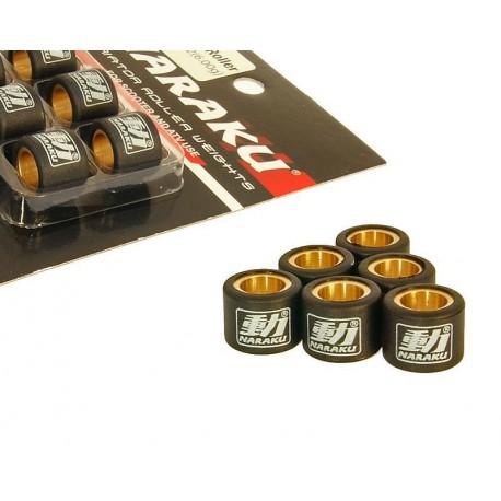 variator / vario roller set Naraku heavy duty 17x12mm - 3.9g