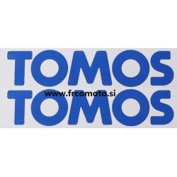 Nalepka Tomos Modra  200 x 50mm