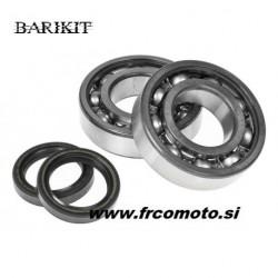 Set ležajev + oljnih tesnil BARIKIT - Aprilia ROTAX 122 -123 / 125ccm H20 2T