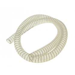 spiral supported coolant hose 1m d15mm for Yamaha, MBK and other