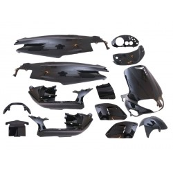 Body kit - 15 pcs black - Gilera Runner 50