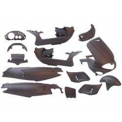 Body kit - Matt Anthracite- 15 pcs- Gilera Runner