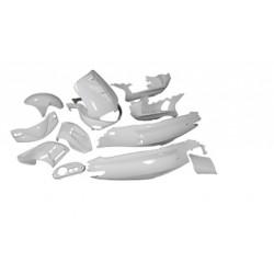 Body kit 13 pcs white - STR8 - Gilera Runner