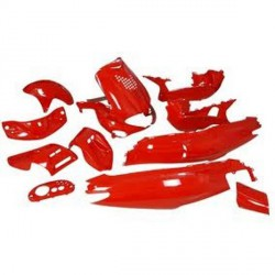 Body kit -Str8 -Red - Gilera Runner - 13pcs