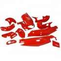 Body kit -Str8 -Red - Gilera Runner