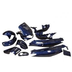 Body kit - Str8 13 delni -blue - Gilera Runner