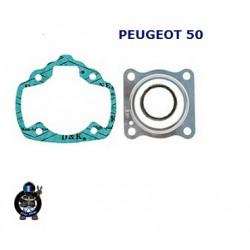 Gasket set  PEUGEOT 50  AC Vertical - Herkules , Sachs  - RMS