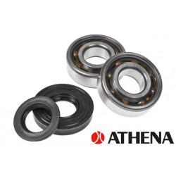 Bearing set - ATHENA -SKF C4 Polimide  -Minarelli Horizontal- Aerox, Nitro ,Aprilia Sr ,