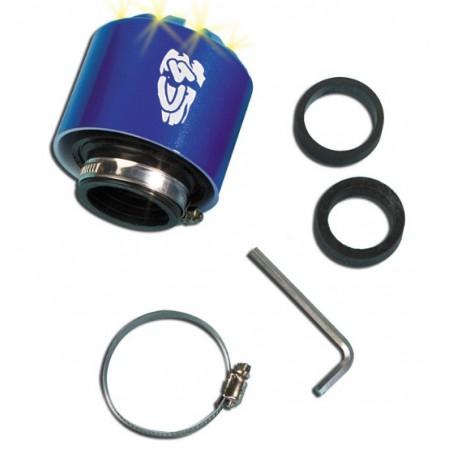 Športni zračni filter ARIA RACING - Ø 28 / 35 Moder - LED