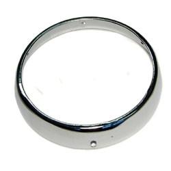 Obroč prednje luči  krom Puch DS 120mm CEV
