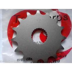 Front sprocket 15  - OEM Aprilia AF-1 ETX125 MX125 RS125 RX125