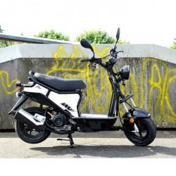 Skuter IMF Ptio 50cc 4T- Black-White