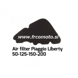 Air filter -C4 -Piaggio 4T - 50 - 125 -150