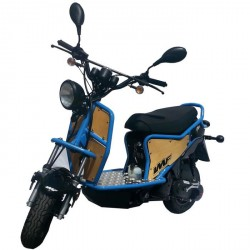 Scooter IMF Ptio 2T -Blue Wood - 50cc