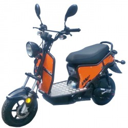 Skuter IMF Ptio 2T -Black Orange 50cc
