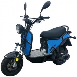 Scooter IMF Ptio 2T -Black Blue 50cc