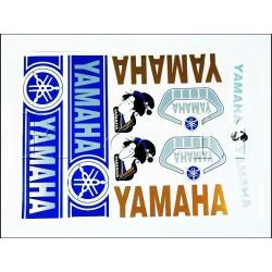 Sticker set Yamaha -Blue