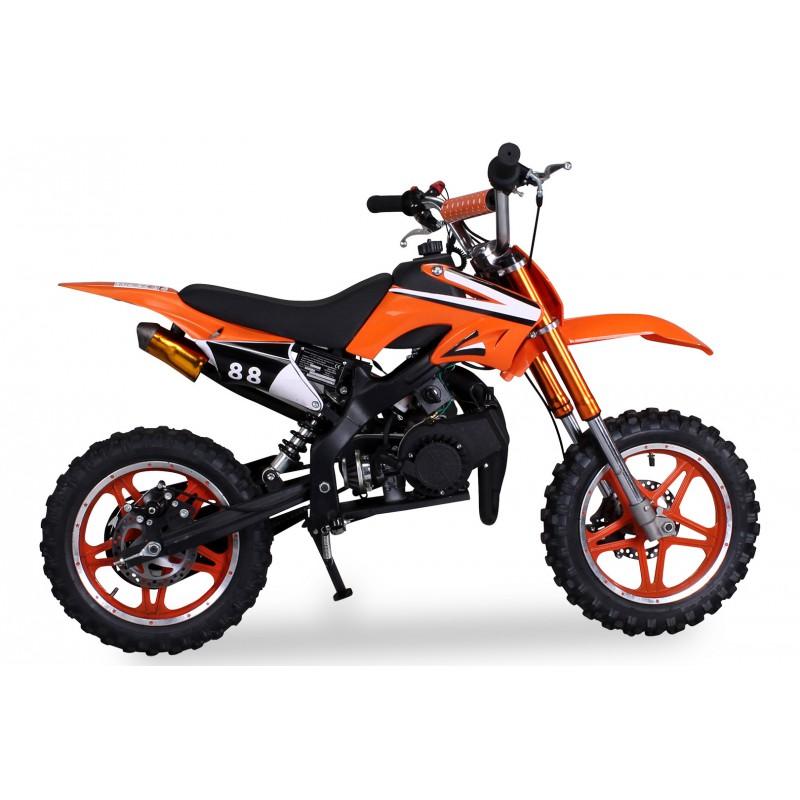 mini moto delta 50cc mkii orange. Black Bedroom Furniture Sets. Home Design Ideas