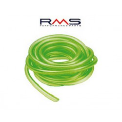 The fuel hose silicone green 4 - 7   (1 m)