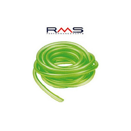 Cev goriva silikon   zelena  4 - 7                    ( 1 m )