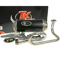 exhaust Turbo Kit GMax 4T E-marked for GY6, 139QMB 50cc 4-stroke
