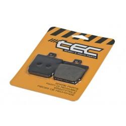 Brake pads - Tec - Yamaha Aerox , Nitro ,Slider 45.8x52.8x6.5mm