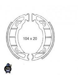 Prednje zavorne čeljusti Piaggio Ciao , Zip  104 X 20