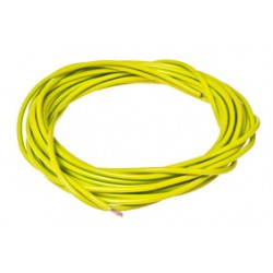 Electric Cable 1mm x 5M - Yellow  TEC