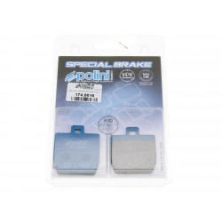 brake pads Polini organic for Yamaha Aerox, MBK Nitro