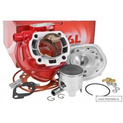 Cilinder kit Airsal 70cc X-Trem -Minarelli Horizontal -( 12mm) Aerox , Nitro ,F12