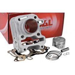 Cilindar kit AIRSAL 63cc Sport SYM 50cc 4T , Peugeot 50cc 4T